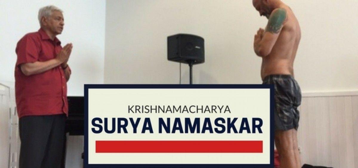 Surya Namaskar según las enseñanzas de Krishnamacharya