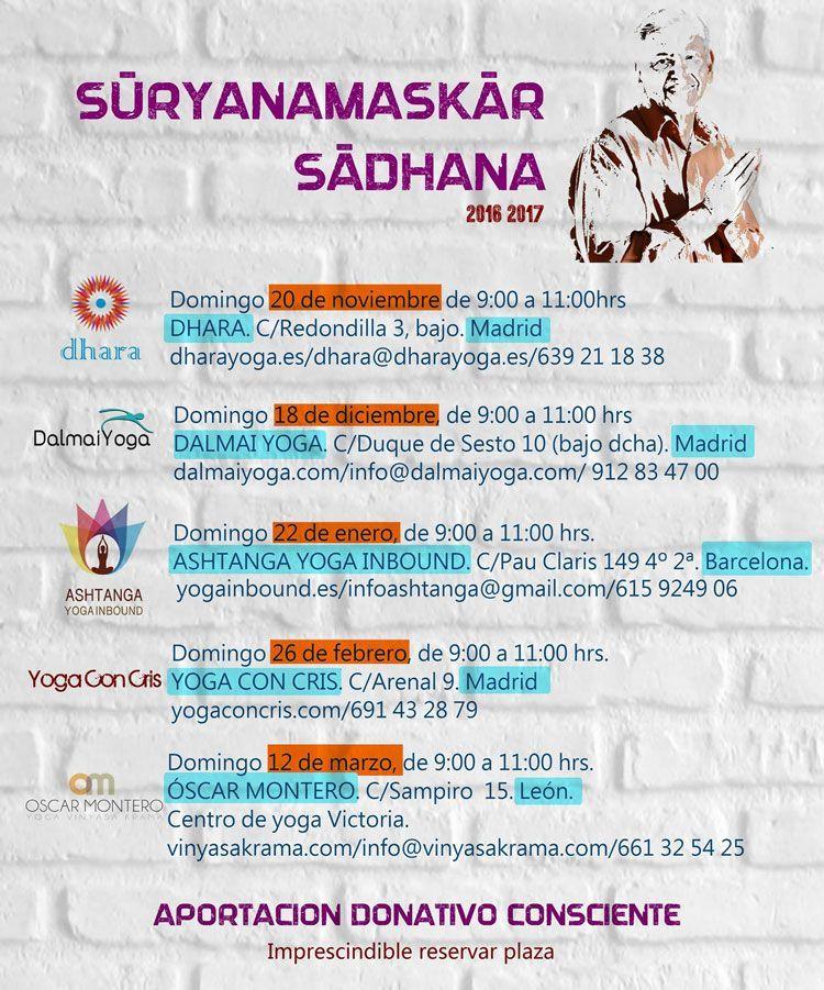 Suryanamaskar Sadhana