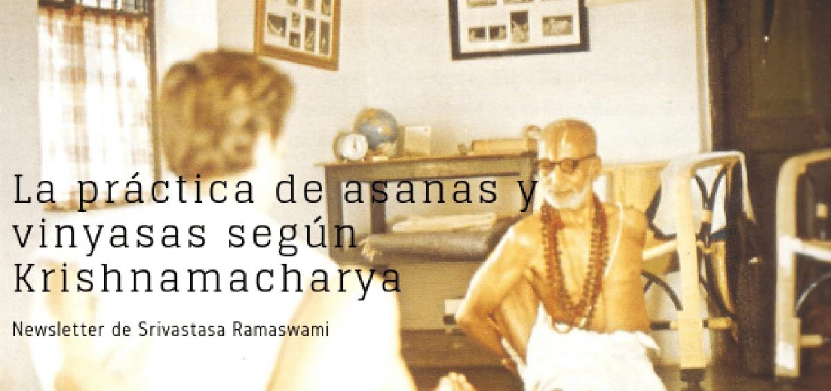 La práctica de asanas y vinyasas (1)