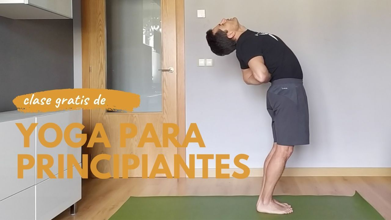 video clase yoga para principiantes