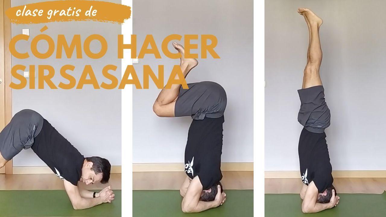 video clase yoga como hacer sisrsana