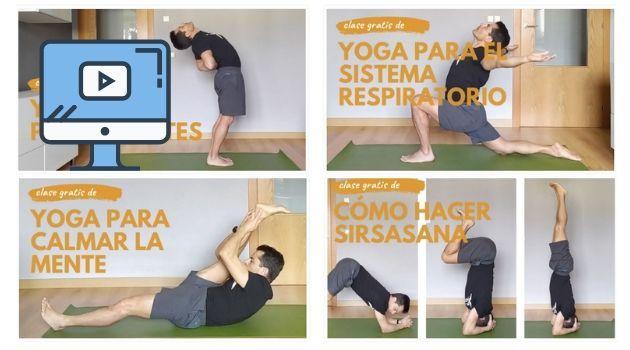 clases de yoga grabadas en tv directo