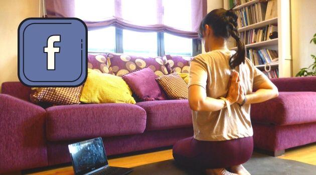 yoga en facebook en directo
