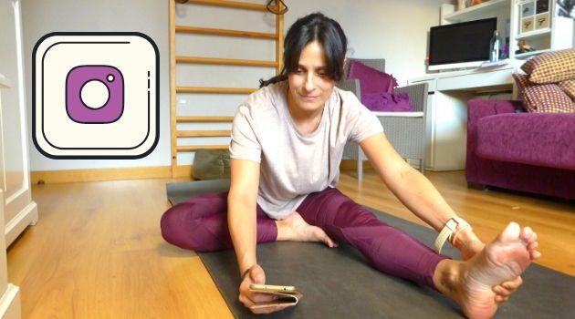 yoga en instagram en directo