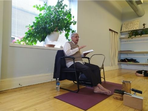 Curso de Yoga Rahasya de Nathamuni con Srivatsa Ramaswami Chicago 2019