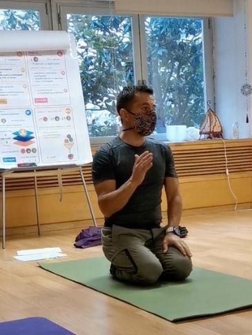 Curso de yoga vinyasa krama en Logroño 2020
